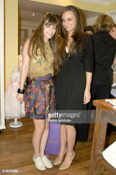 Cannon Hodge and Jessica GioiaZotts attend BERGDORF GOODMAN Hosts SUSANNA SALK Book Signing for 'ROOM FOR CHILDREN' at Bergdorf Goodman on May 6 2010...