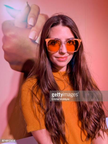 Cannon Hodge attends the #TEAMPIXEL x GIRLGAZE launch event hosted by Google and Amanda De Cadenet on November 15 2017 in Los Angeles California