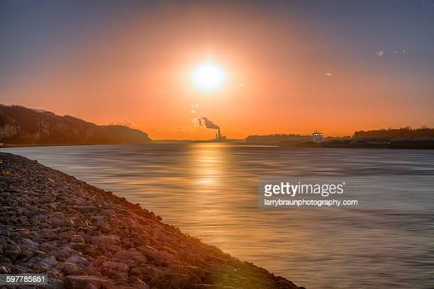 cannon - river mississippi stock photos and pictures