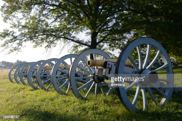 Cannons in Valley Forge National Park