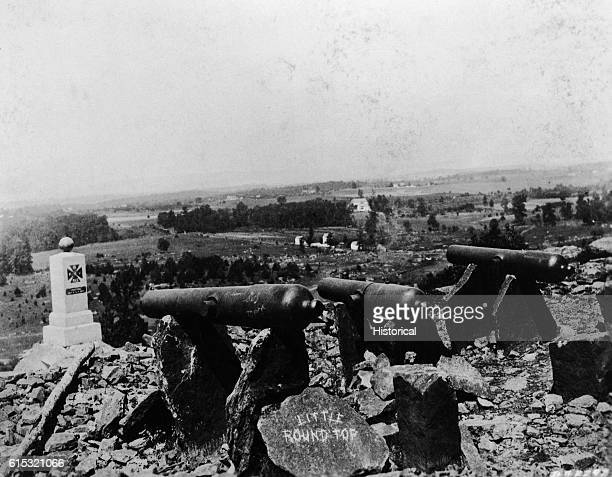 Cannons on Little Round Top