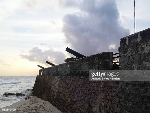 Cannons On Surrounding Wall