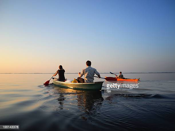 canoe and kayak - national park stock pictures, royalty-free photos & images