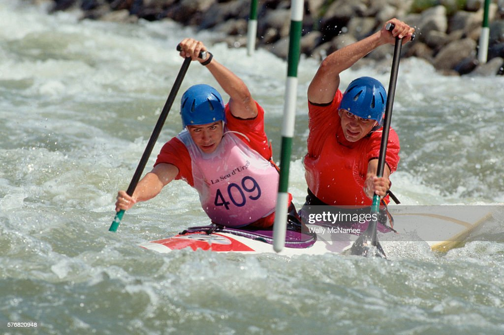Canoe Competition At The 1992 Barcelona Olympics