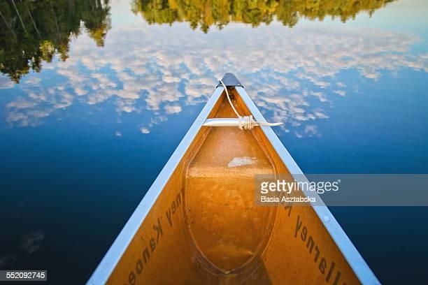 canoe, killarney, canada - sudbury canada stock photos and pictures