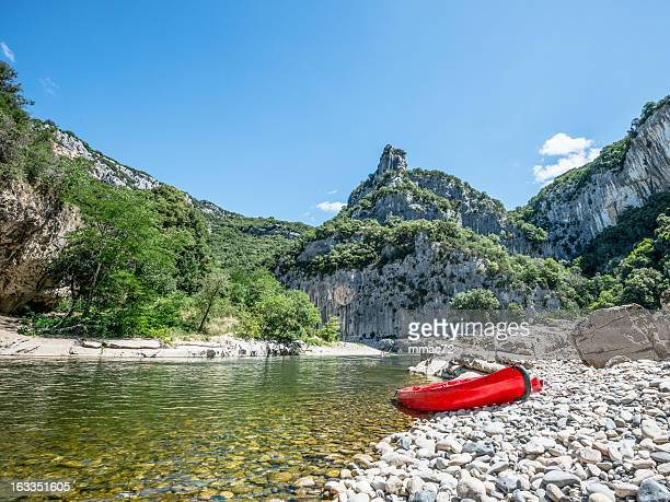 canoë - gorges du verdon photos et images de collection