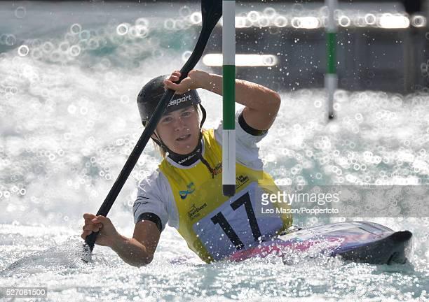 Canoe Slalom World Cup Lee Valley White Water Centre UK Ladies K1 Class Semi Final Stefanie Horn ITA