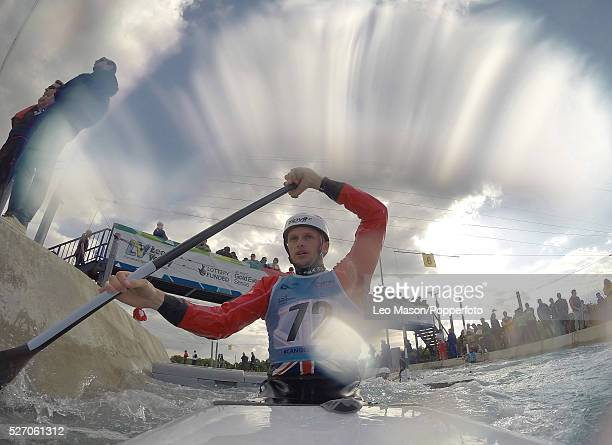 Canoe Slalom World Cup Lee Valley White Water Centre UK Mens C1 K1 Class preliminary round
