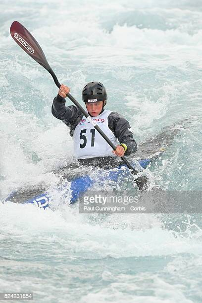 Canoe Tesco Canoe Slalom 2012 including the selection trials for the Great Britian team at the Olympic Games Mallory Franklin competes in the Women's...