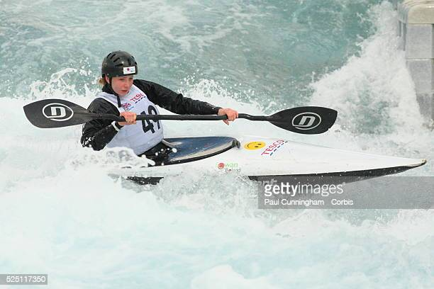 Canoe Tesco Canoe Slalom 2012 including the selection trials for the Great Britian team at the Olympic Games Alice Haining competes in the Women's...