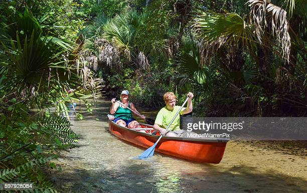 Canoeing Juniper Springs in The Ocala National Forest