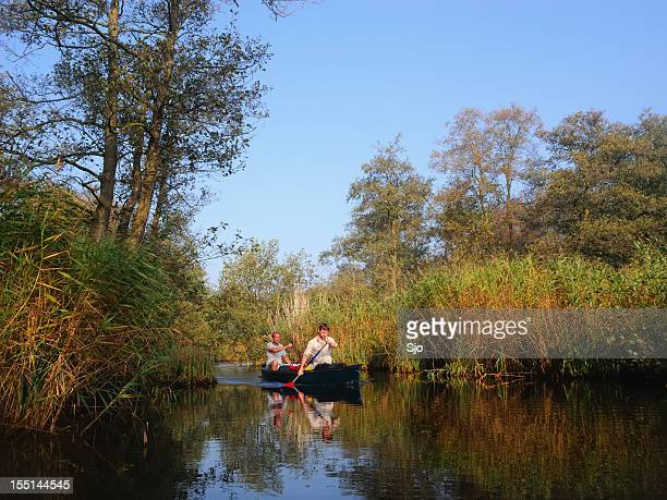 canoeing - overijssel stock pictures, royalty-free photos & images