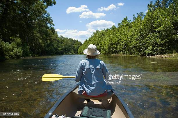 canoeing - ozark mountains stock pictures, royalty-free photos & images