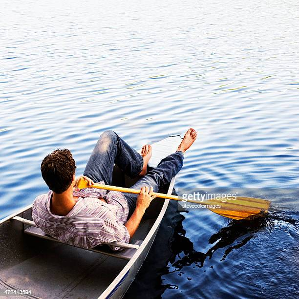 canoeing - small boat stock pictures, royalty-free photos & images