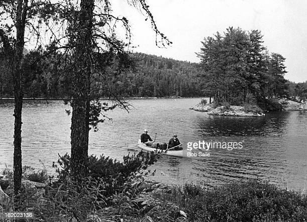 JUL 4 1979 Canoeing The Land Of Lakes And Islands On Ontario's Quetico Park Portages created by Indians and early fur traders and explorers connect...