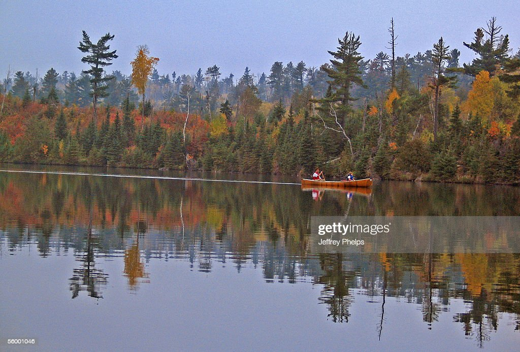 Boundary Waters Canoe Area In Northern United States : News Photo