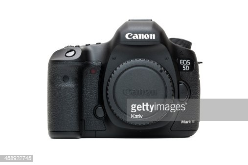 Canon 5d Mark Iii Camera Body Digital Slr Mk3 High Res Stock Photo Getty Images
