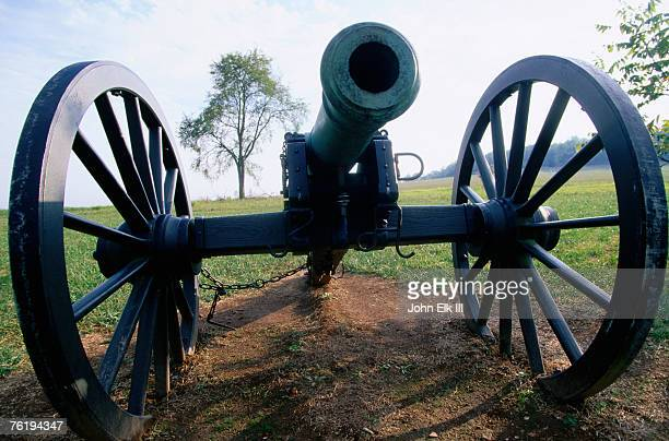 Canon at Wilson's Creek National Battlefield, The Ozarks, near Republic, Republic, Missouri, United States of America, North America