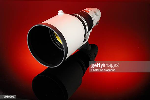 A Canon EF 400mm f/28L IS II USM telephoto lens During a studio shoot for PhotoPlus Magazine October 19 2011