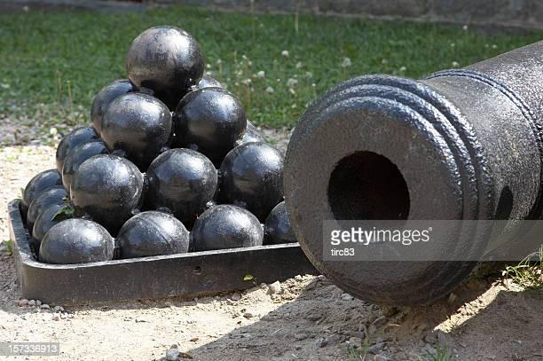 Canonballs and canon