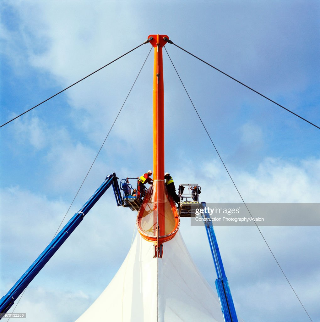 Canopy of the Ashford Designer Outlet, Kent, UK. News Photo | Getty ...