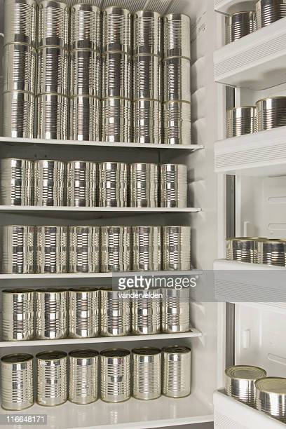 Cans In The Fridge