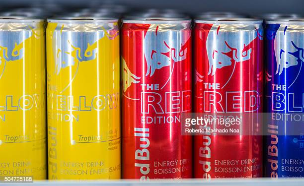 Cans of Red Bull Energy Drink Red Bull is an energy drink sold by an Austrian company it is highestselling energy drink in the world