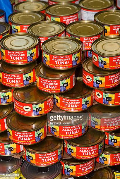 Cans of Whole Foods' 365 brand tuna on display on Tuesday November 17 2009 Whole Foods is to report its fiscal firstquarter earnings after the stock...