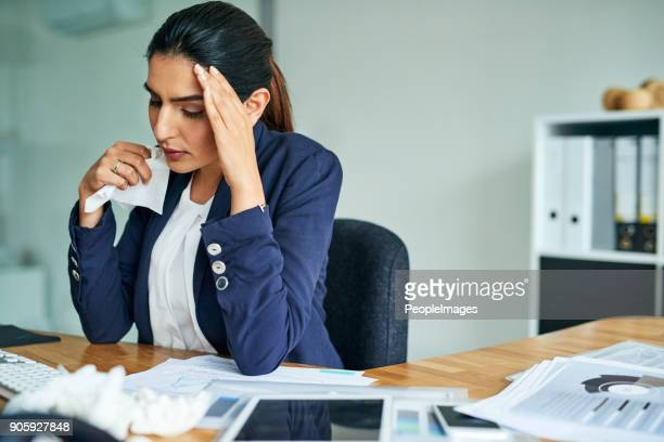 i can't be productive when i'm feeling like this - sinus stock pictures, royalty-free photos & images