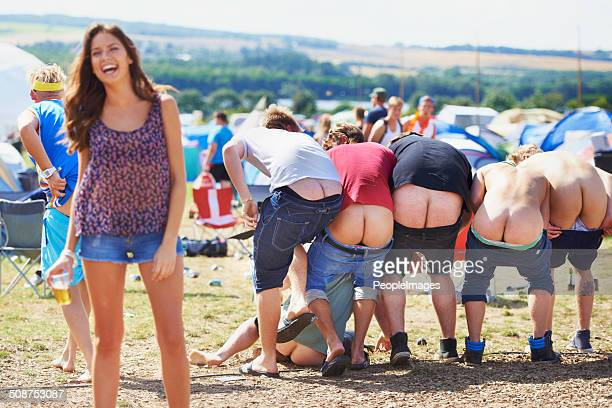 i can't believe they did that! - woman bum stock photos and pictures