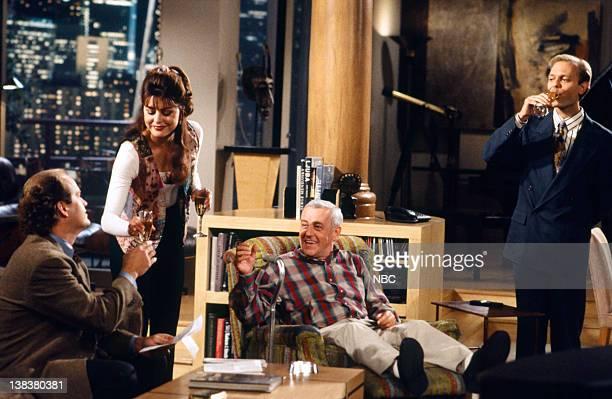 FRASIER Can't Buy Me Love Episode 14 Pictured Kelsey Grammer as Doctor Frasier Crane Jane Leeves as Daphne Moon John Mahoney as Martin Crane David...