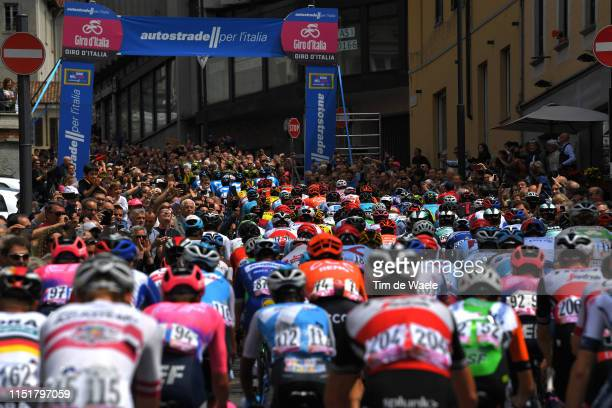 Cantú City / Peloton / Fans / Public / during the 102nd Giro d'Italia 2019, Stage 15 a 232km stage from Ivrea to Como / Tour of Italy / #Giro /...