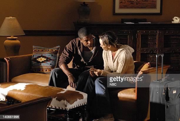 LIGHTS I Can't Episode 410 Pictured Michael B Jordan as Vince Howard Angela Rawna as Regina Howard Photo by Bill Records/NBCU Photo Bank