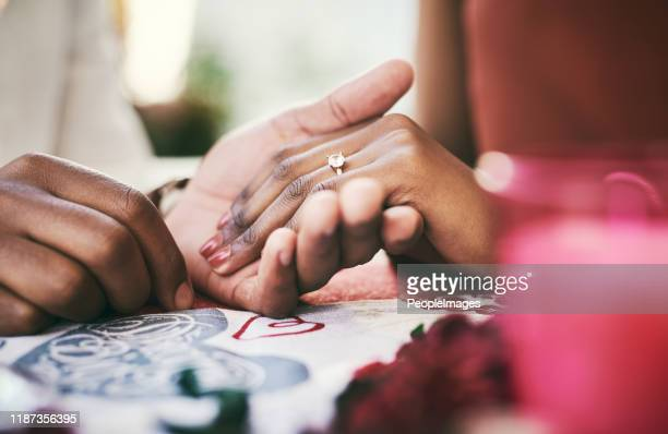 i can't wait to make you my mrs - black women engagement rings stock pictures, royalty-free photos & images