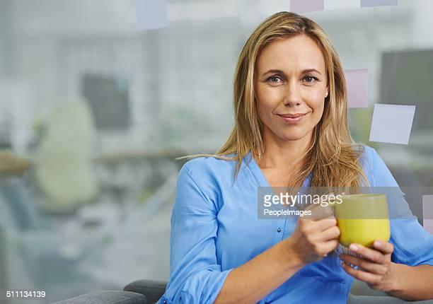 Je ne peux pas travailler sans mon café.