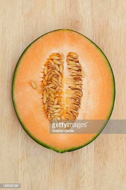 cantaloupe melon - andrew dernie - fotografias e filmes do acervo
