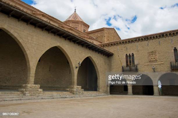 cantavieja - teruel province - aragón - spain. - nook architecture stock pictures, royalty-free photos & images