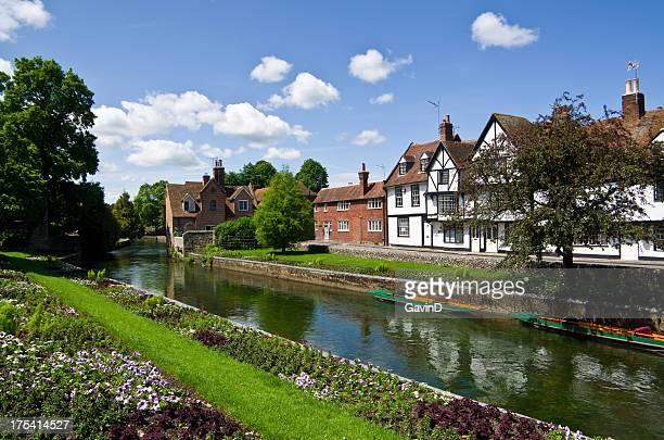 Canterbury und den Fluss Stour
