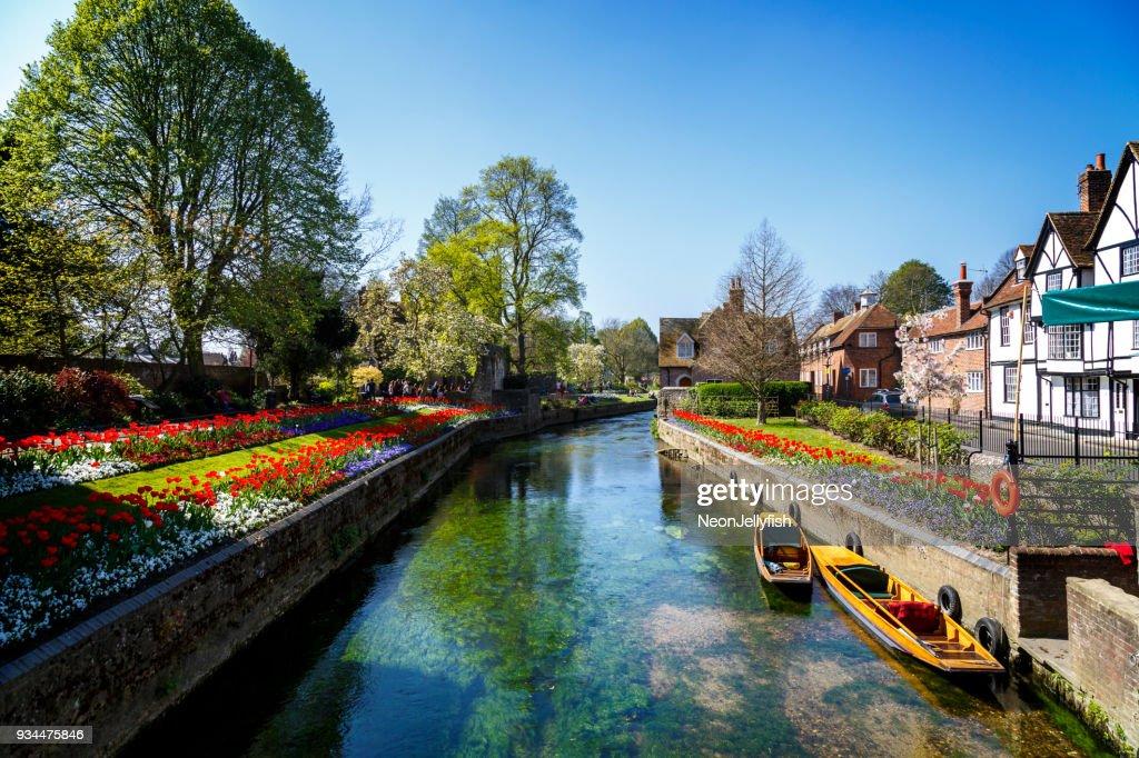 Canterbury Canal : Stockfoto