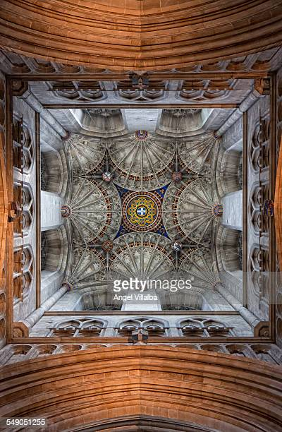 Canterbury Cathedral, crossing the vault