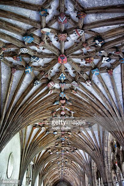 Canterbury Cathedral, the cloisters vault