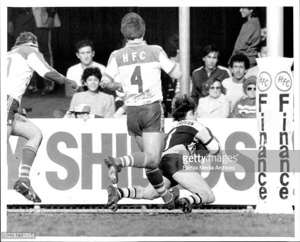 Canterbury V Cronulla at Belmore Jonathon Docking July 28 1984