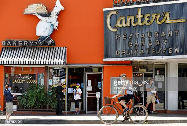 Canter's Deli on Fairfax is photographed on Sunday May 31 2020