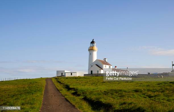 Cantick Head Lighthouse, at South Walls, Scotland