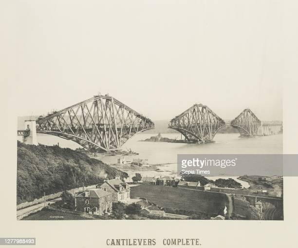 Cantilevers Complete, 9th July 1889; Attributed to John Fergus , Plate by Photophane Co; about 1890; Photogravure;.