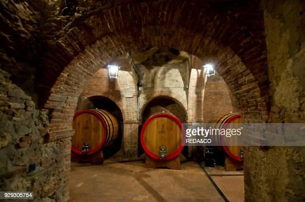 Cantina Vinicola la Talosa winery Vino nobile di Montepulciano winemakers Montepulciano Tuscany Italy Europe