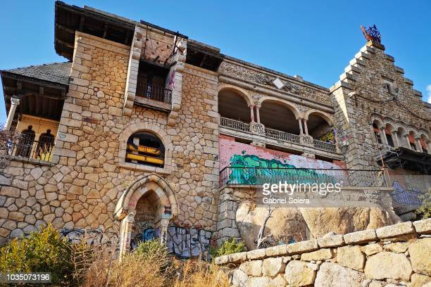 Canto del Pico's Palace the Summer Residence of Dictator Franco is seen on September 1 2018 in Torrelodones Spain The palace is built in eclectic...