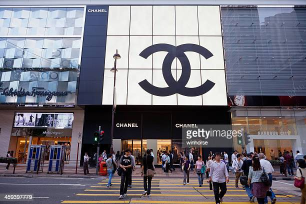 canton road, tsim sha tsui, hong kong - gucci beauty stock pictures, royalty-free photos & images
