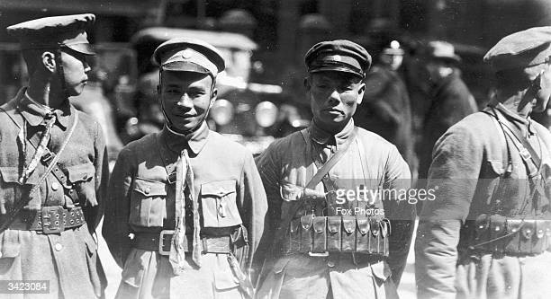 Cantonese Nationalist soldiers in Shanghai