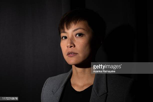 Cantopop star turned political activist Denise Ho Wan-see, also known as HOCC poses for a portraitat the conclusion of the Be Water: Hong Kong v...